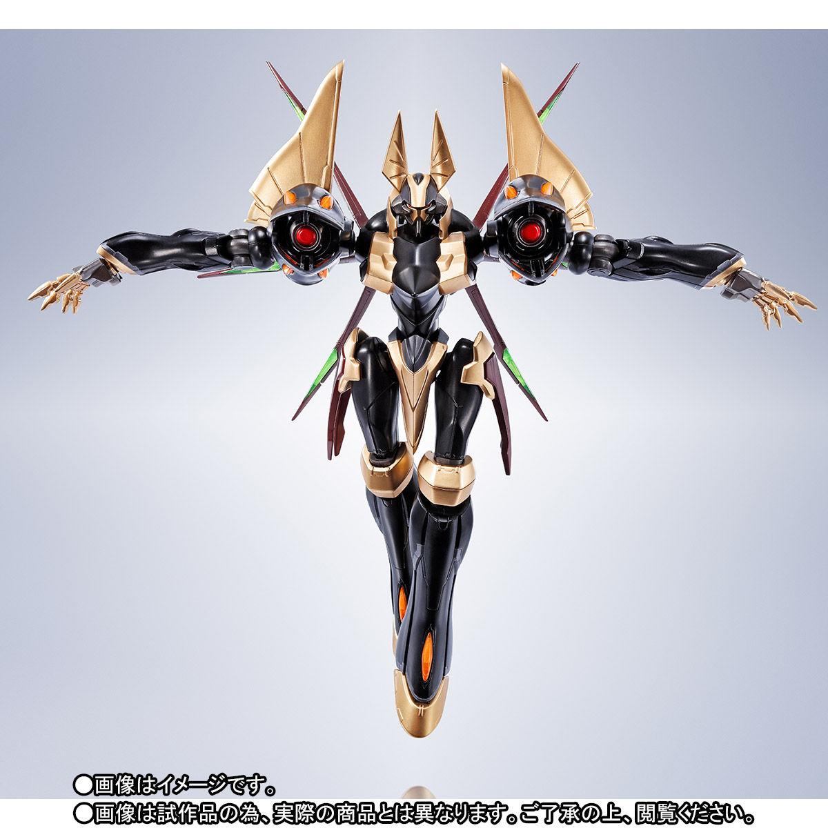 ROBOT魂〈SIDE KMF〉『ガウェイン ~BLACK REBELLION~』コードギアス 可動フィギュア-008