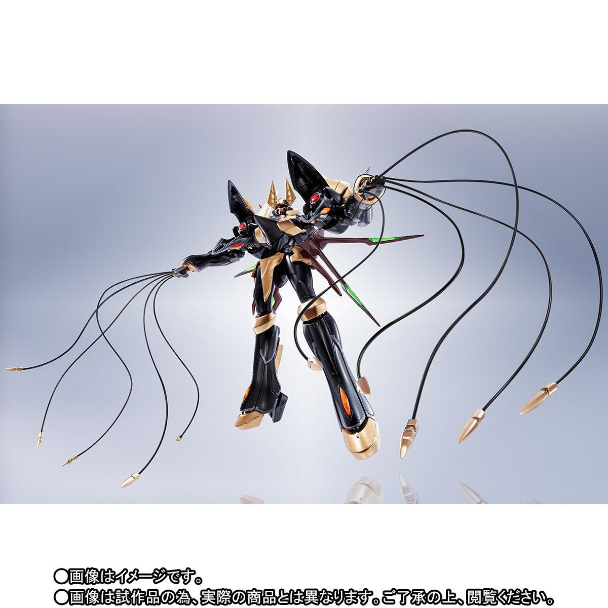 ROBOT魂〈SIDE KMF〉『ガウェイン ~BLACK REBELLION~』コードギアス 可動フィギュア-009