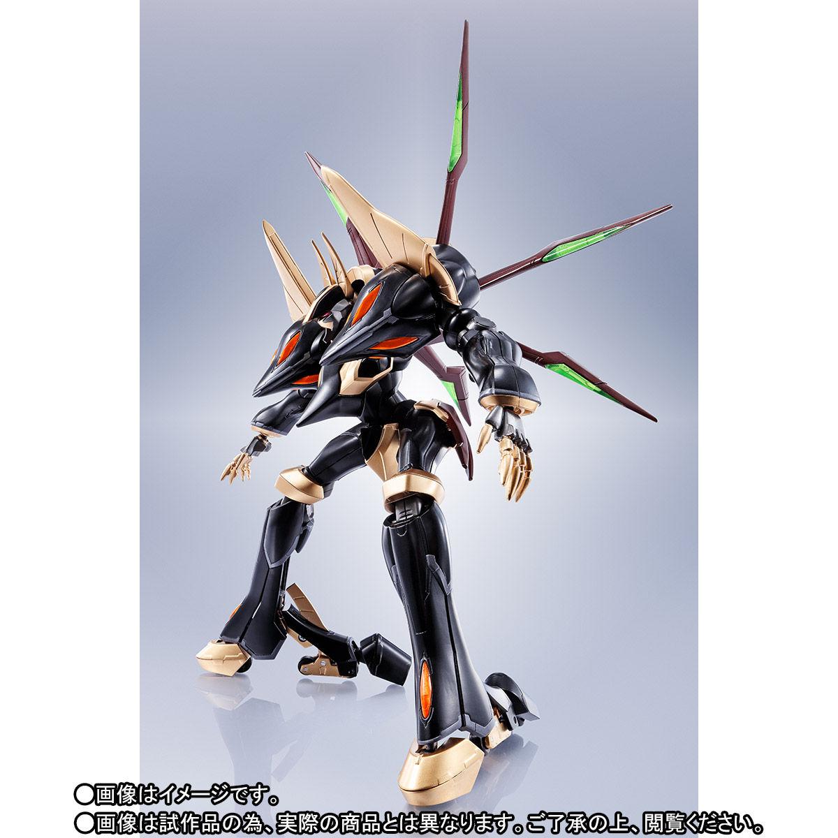 ROBOT魂〈SIDE KMF〉『ガウェイン ~BLACK REBELLION~』コードギアス 可動フィギュア-010