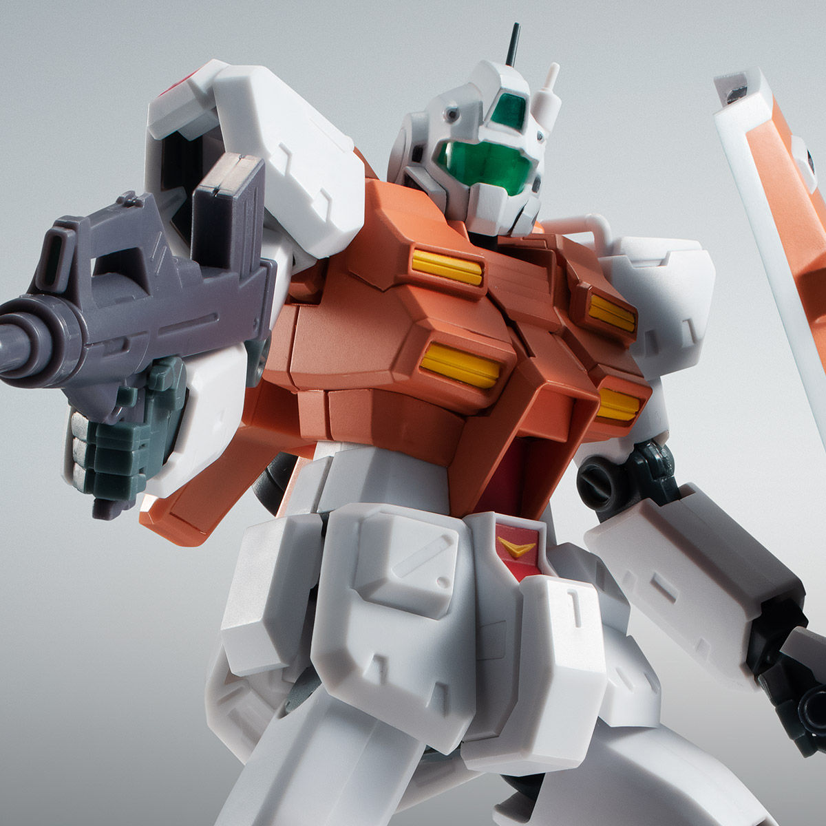 【限定販売】ROBOT魂〈SIDE MS〉『RGM-79 パワード・ジム ver. A.N.I.M.E.』ガンダム0083 可動フィギュア-001