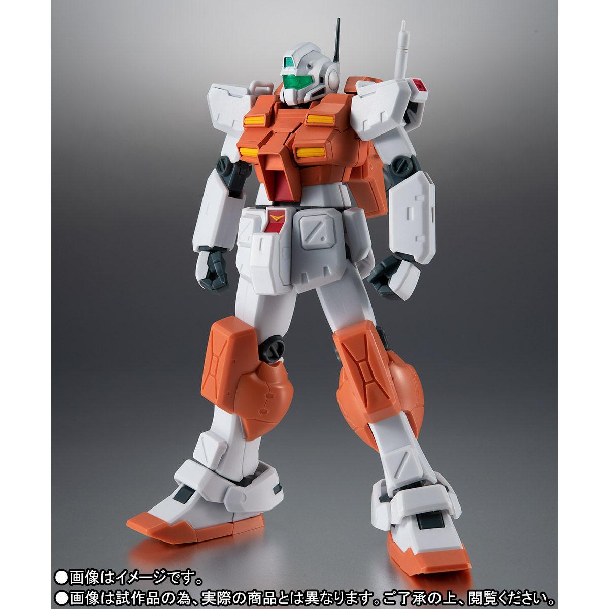 【限定販売】ROBOT魂〈SIDE MS〉『RGM-79 パワード・ジム ver. A.N.I.M.E.』ガンダム0083 可動フィギュア-002