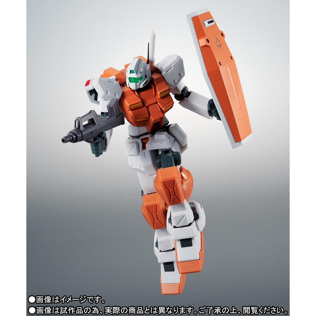 【限定販売】ROBOT魂〈SIDE MS〉『RGM-79 パワード・ジム ver. A.N.I.M.E.』ガンダム0083 可動フィギュア-004