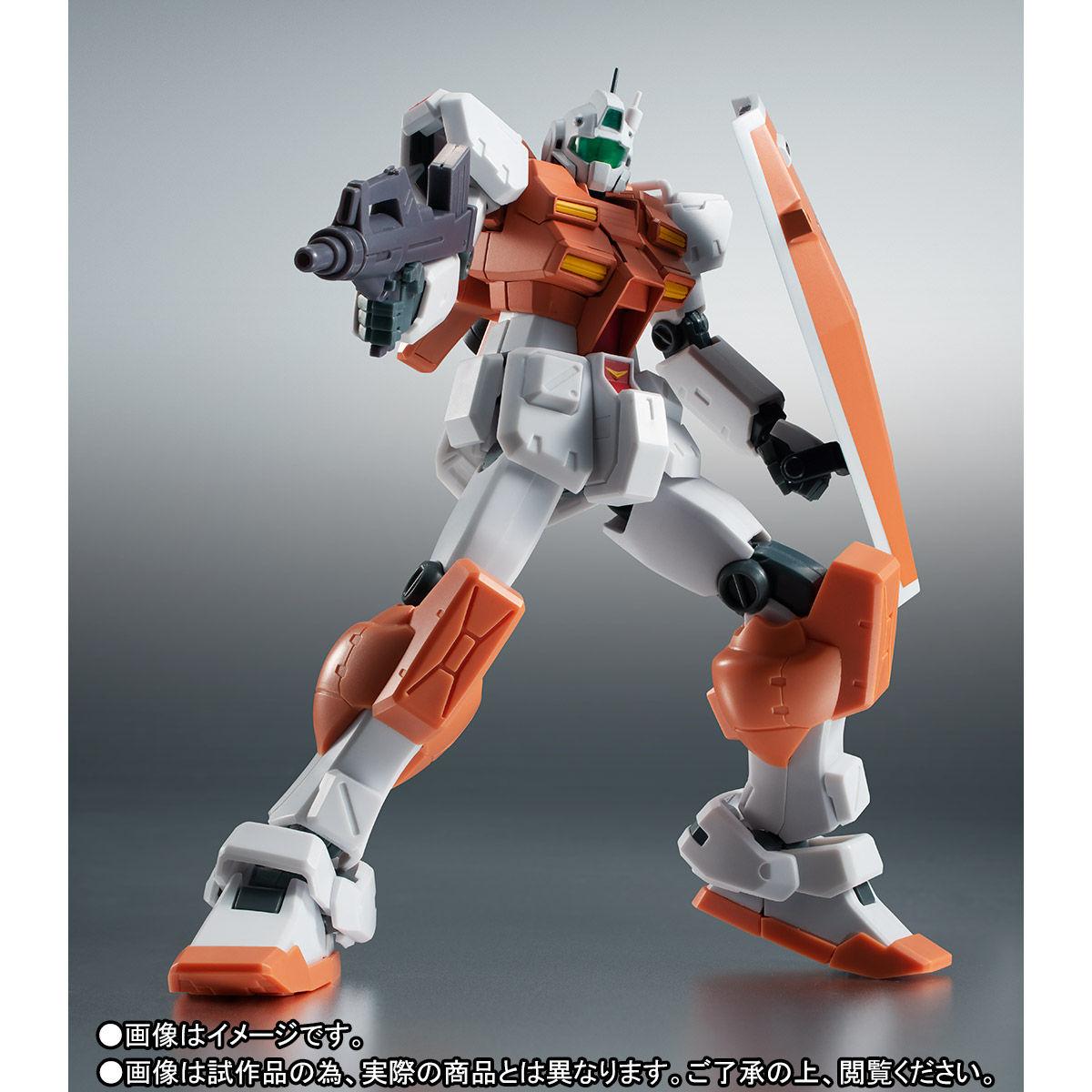 【限定販売】ROBOT魂〈SIDE MS〉『RGM-79 パワード・ジム ver. A.N.I.M.E.』ガンダム0083 可動フィギュア-005