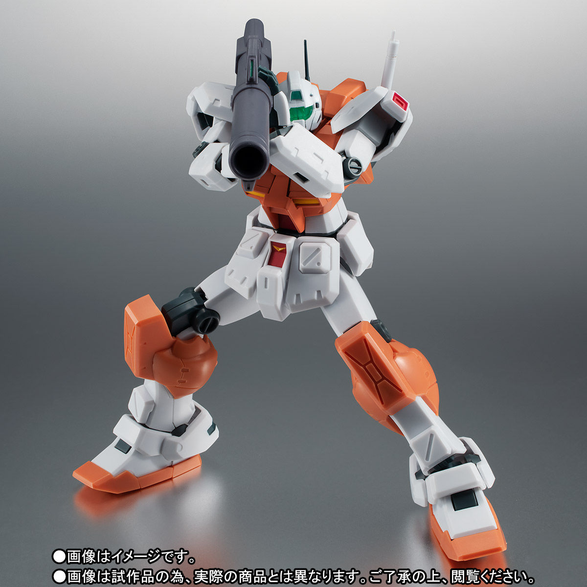 【限定販売】ROBOT魂〈SIDE MS〉『RGM-79 パワード・ジム ver. A.N.I.M.E.』ガンダム0083 可動フィギュア-007