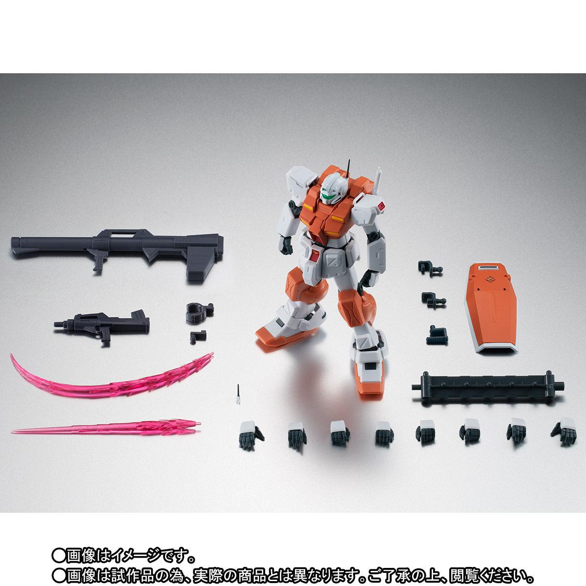 【限定販売】ROBOT魂〈SIDE MS〉『RGM-79 パワード・ジム ver. A.N.I.M.E.』ガンダム0083 可動フィギュア-010