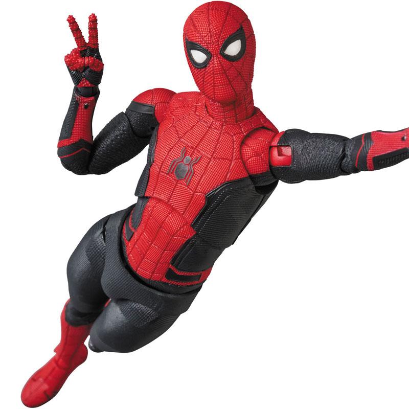 マフェックス No.113 MAFEX『スパイダーマン アップグレードスーツ/ SPIDER-MAN Upgraded Suit』アクションフィギュア-002