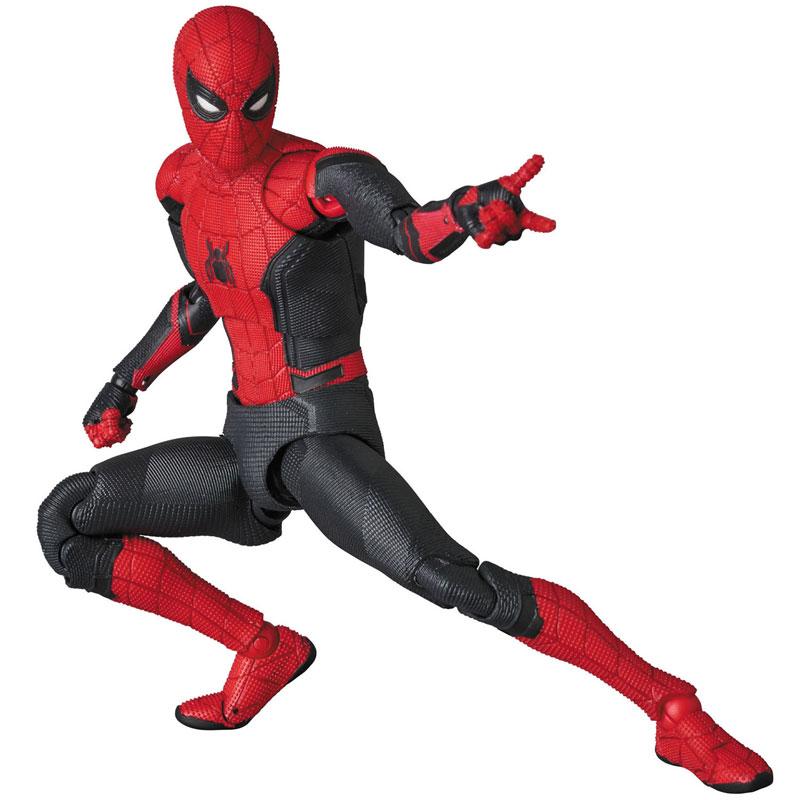 マフェックス No.113 MAFEX『スパイダーマン アップグレードスーツ/ SPIDER-MAN Upgraded Suit』アクションフィギュア-007