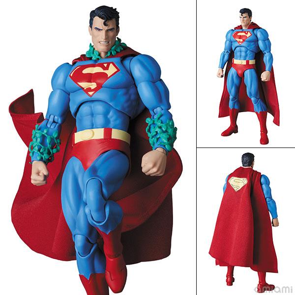 マフェックス MAFEX『スーパーマン ハッシュ版/SUPERMAN(HUSH Ver.)』アクションフィギュア