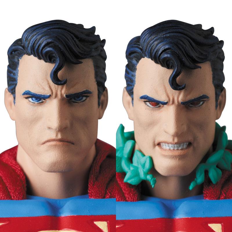 マフェックス MAFEX『スーパーマン ハッシュ版/SUPERMAN(HUSH Ver.)』アクションフィギュア-006