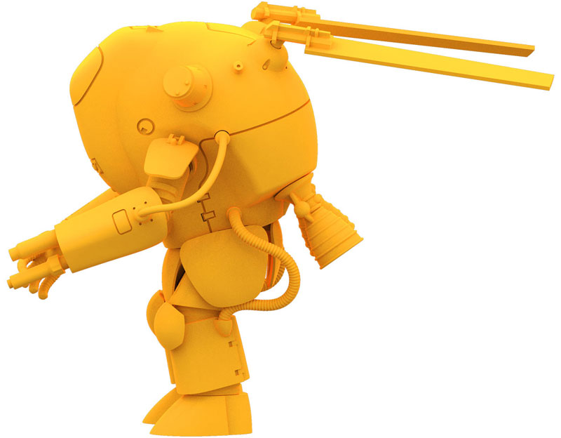 【ガチャガチャ】マシーネンクリーガー『35ガチャーネン 横山宏ワールド FINAL』プラモデル-017