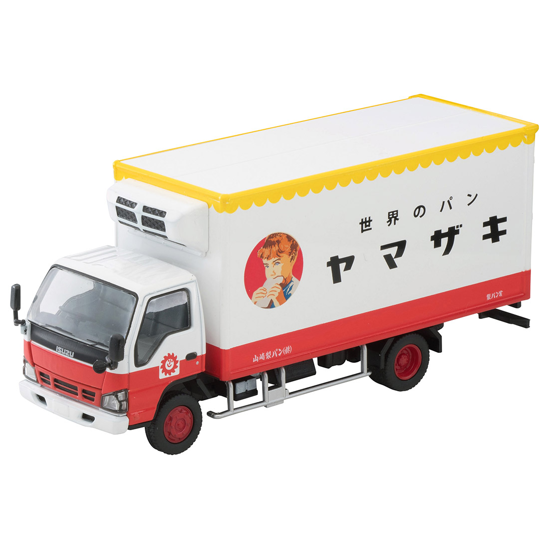 トミカリミテッドヴィンテージ ネオ LV-N195b『いすゞエルフ パネルバン(ヤマザキパン)』1/64 ミニカー-001
