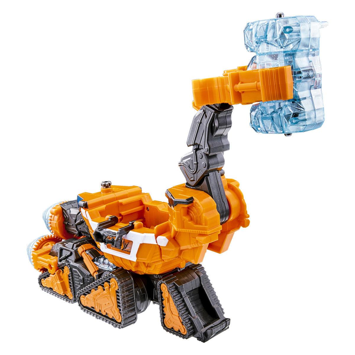 キラメイジャー ロボシリーズ03『魔進変形 DXギガントドリラー』可変可動フィギュア-003