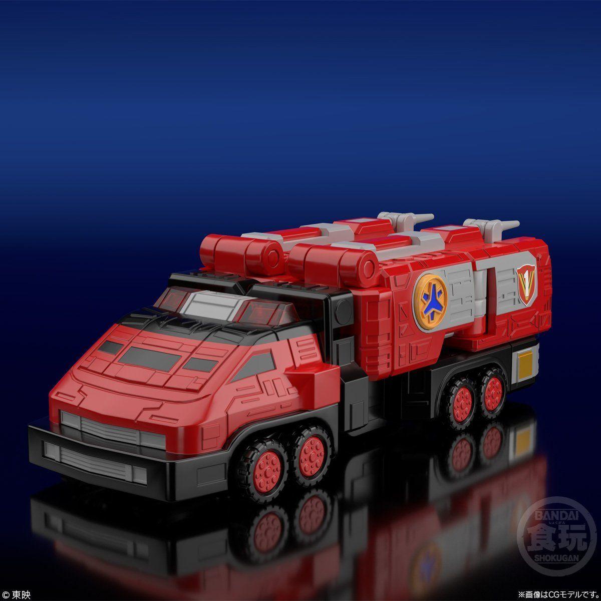 【食玩】スーパーミニプラ『緊急合体 ビクトリーロボ』救急戦隊ゴーゴーファイブ プラモデル-002