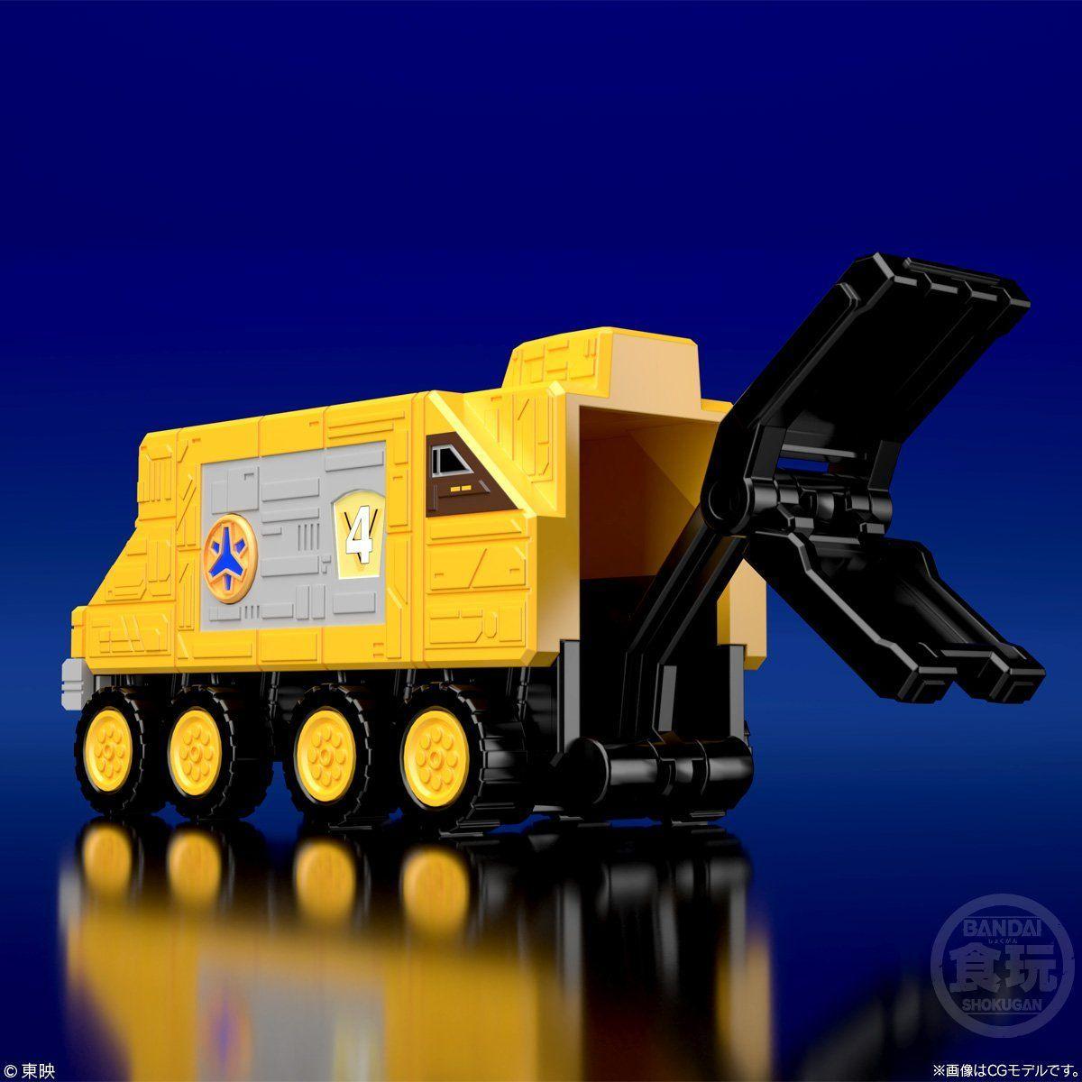 【食玩】スーパーミニプラ『緊急合体 ビクトリーロボ』救急戦隊ゴーゴーファイブ プラモデル-005