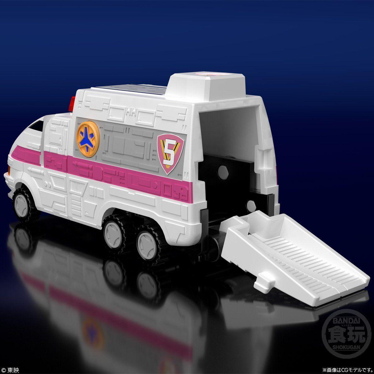 【食玩】スーパーミニプラ『緊急合体 ビクトリーロボ』救急戦隊ゴーゴーファイブ プラモデル-006
