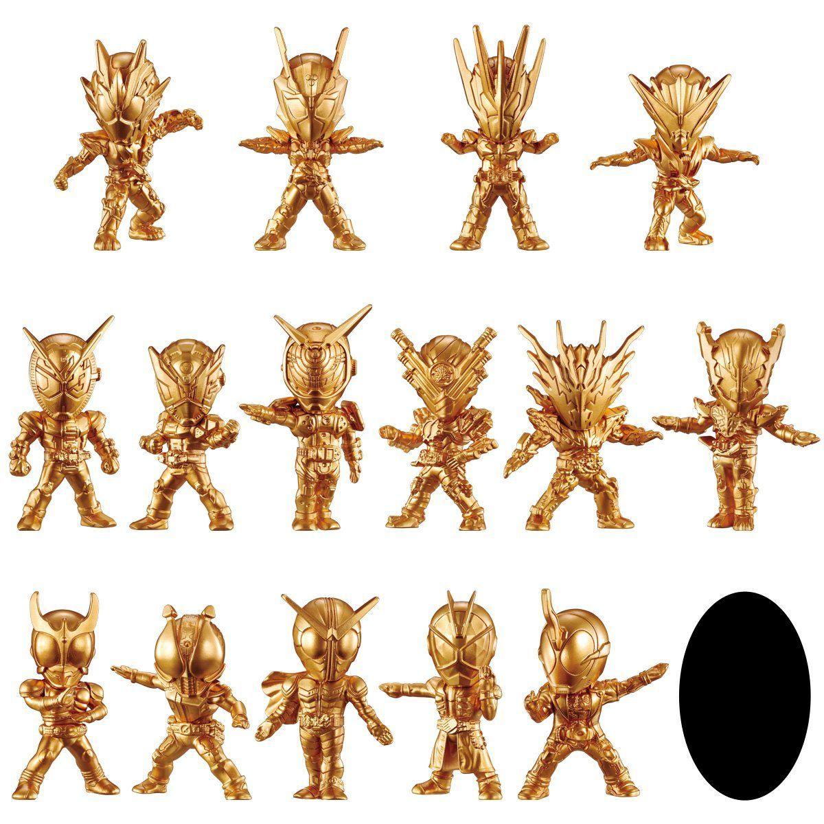 【食玩】『仮面ライダーゴールドフィギュア02』16個入りBOX-001