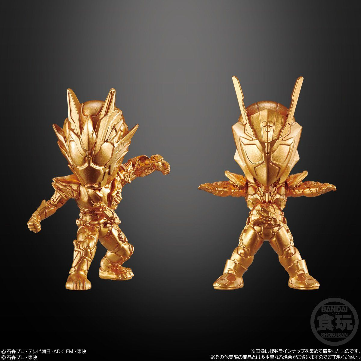 【食玩】『仮面ライダーゴールドフィギュア02』16個入りBOX-002