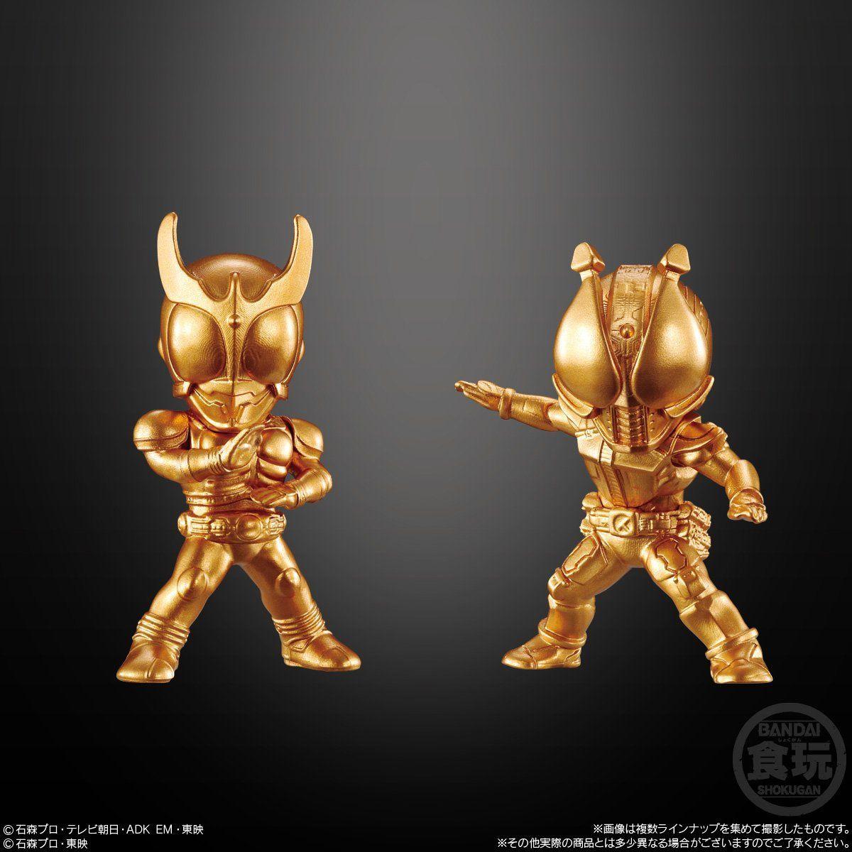 【食玩】『仮面ライダーゴールドフィギュア02』16個入りBOX-006