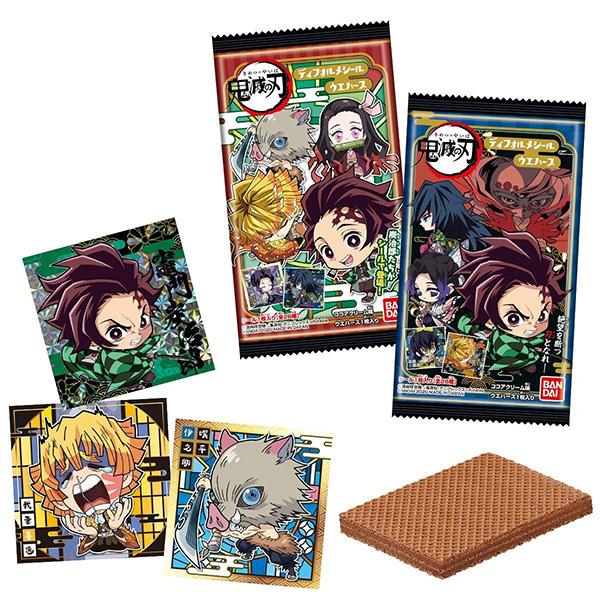 【食玩】鬼滅の刃『ディフォルメシールウエハース』20個入りBOX