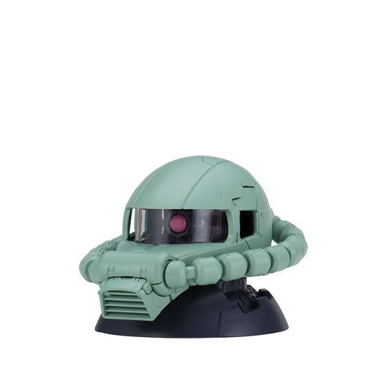 【ガシャポン】EXCEED MODEL『ZAKU HEAD 8』ザク頭部モデル-003