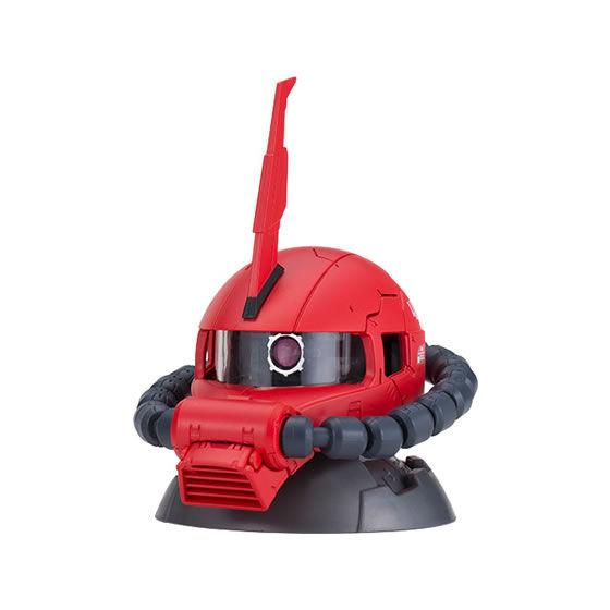 【ガシャポン】EXCEED MODEL『ZAKU HEAD 8』ザク頭部モデル-004