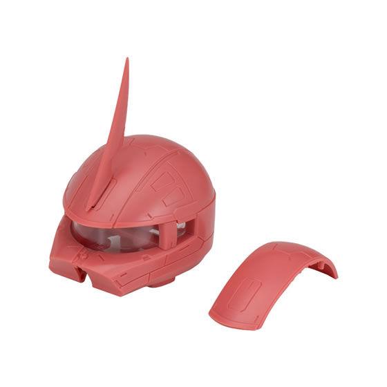 【ガシャポン】EXCEED MODEL『ZAKU HEAD 8』ザク頭部モデル-011