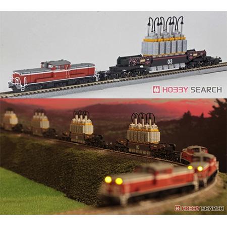 Zゲージ『ネルフ専用鉄道下二子山支線「ヤシマ作戦」DD51&シキ880(2両セット)』1/220 鉄道模型