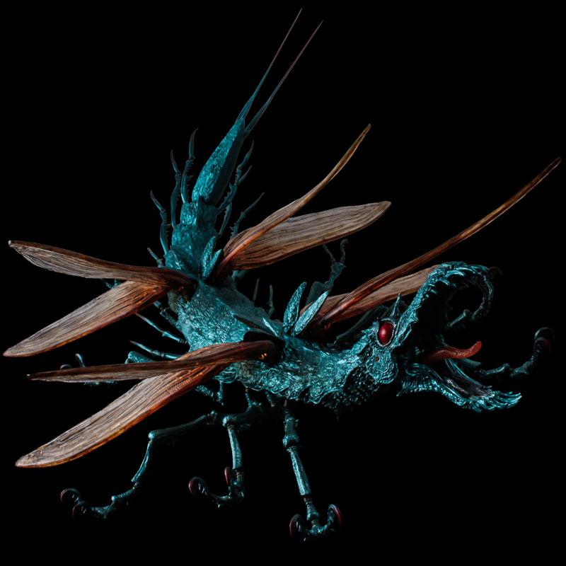 タケヤ式自在置物『大王ヤンマ』風の谷のナウシカ 可動フィギュア-004