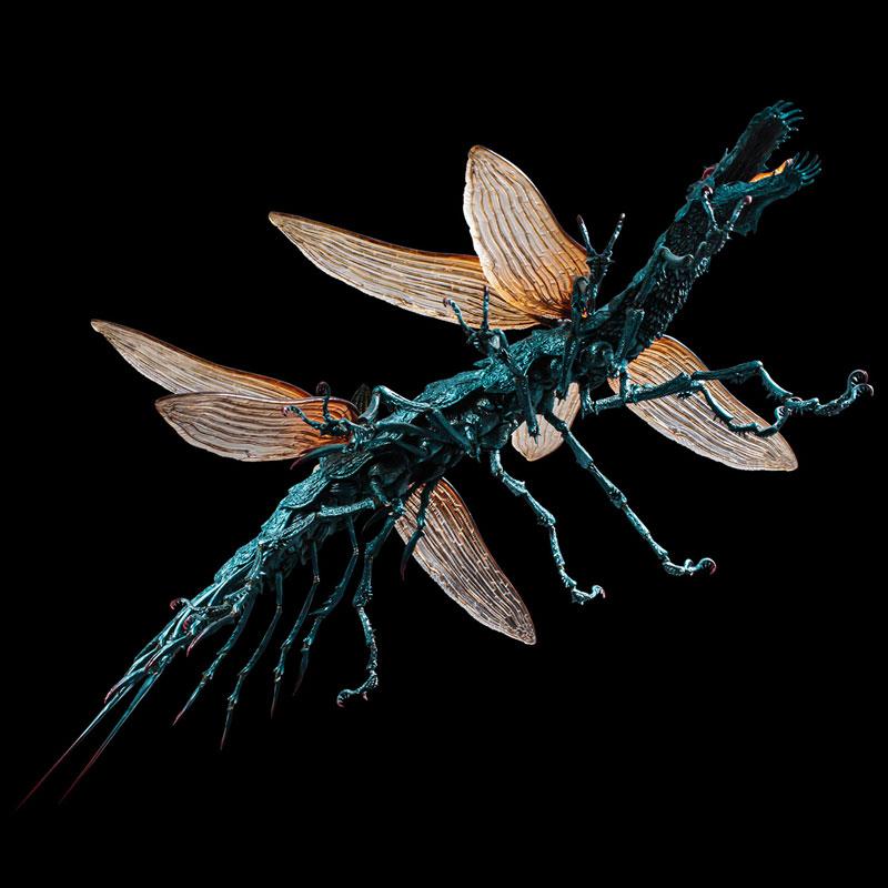 タケヤ式自在置物『大王ヤンマ』風の谷のナウシカ 可動フィギュア-005