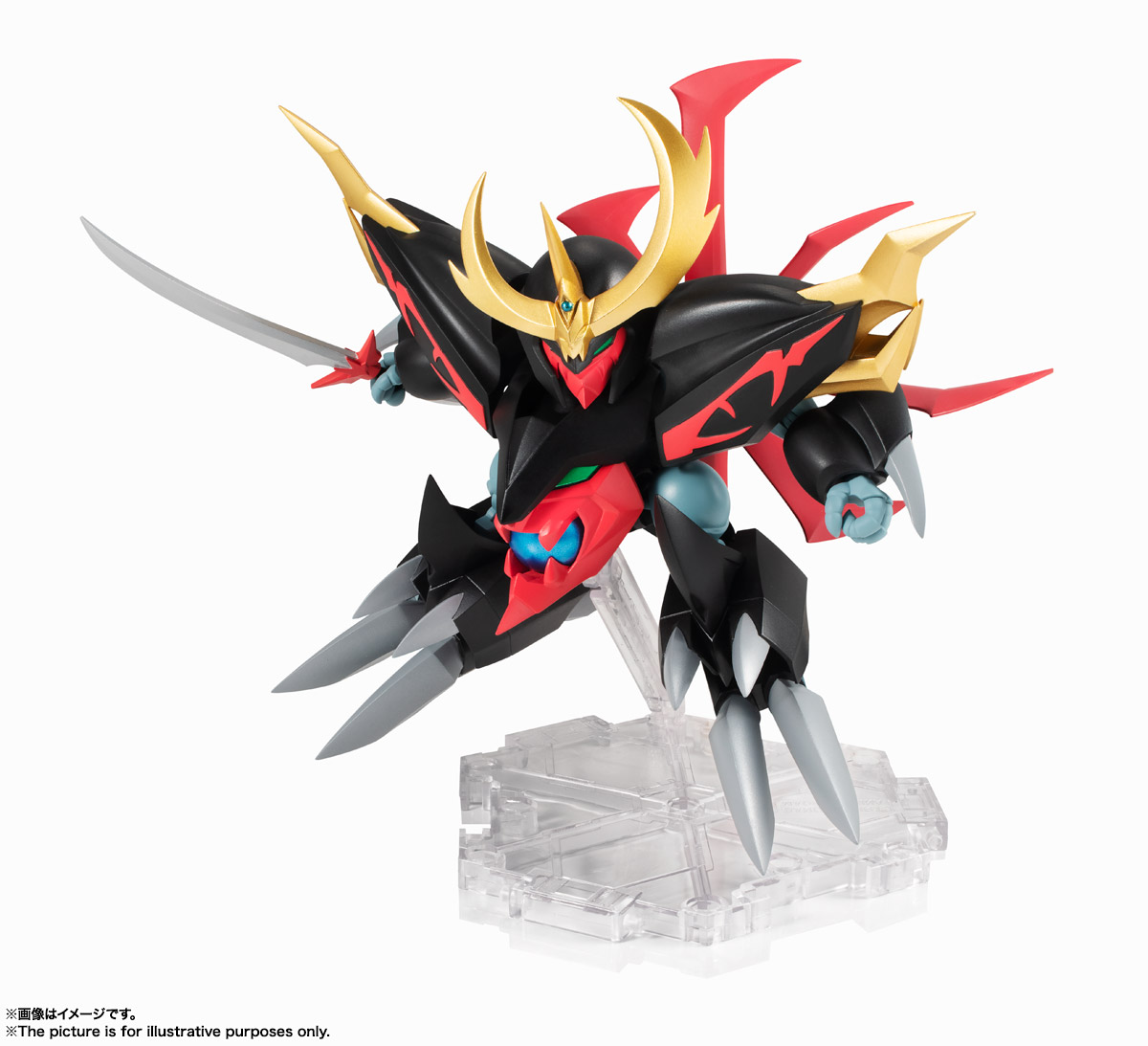 NXEDGE STYLE[MASHIN UNIT]『邪戦角』魔神英雄伝ワタル 可動フィギュア-002