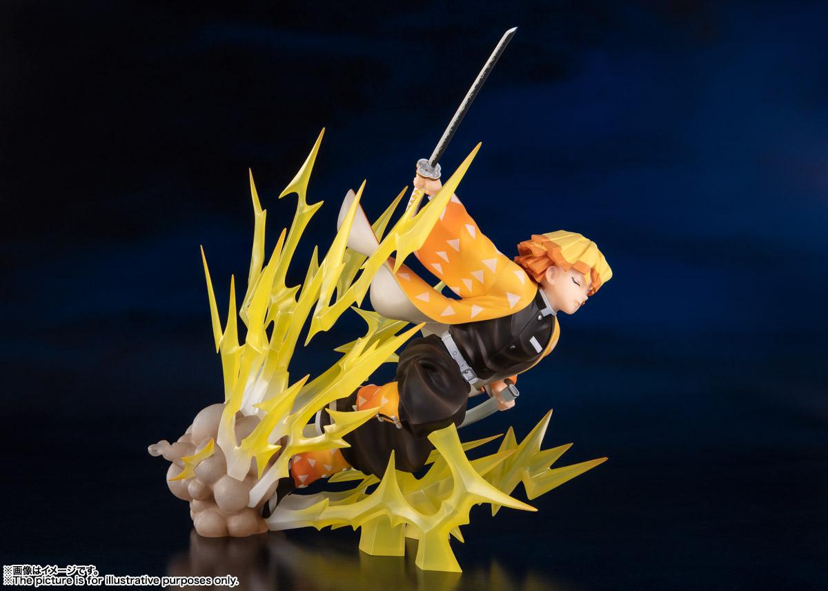 フィギュアーツZERO『我妻善逸 -雷の呼吸-』鬼滅の刃 完成品フィギュア-003