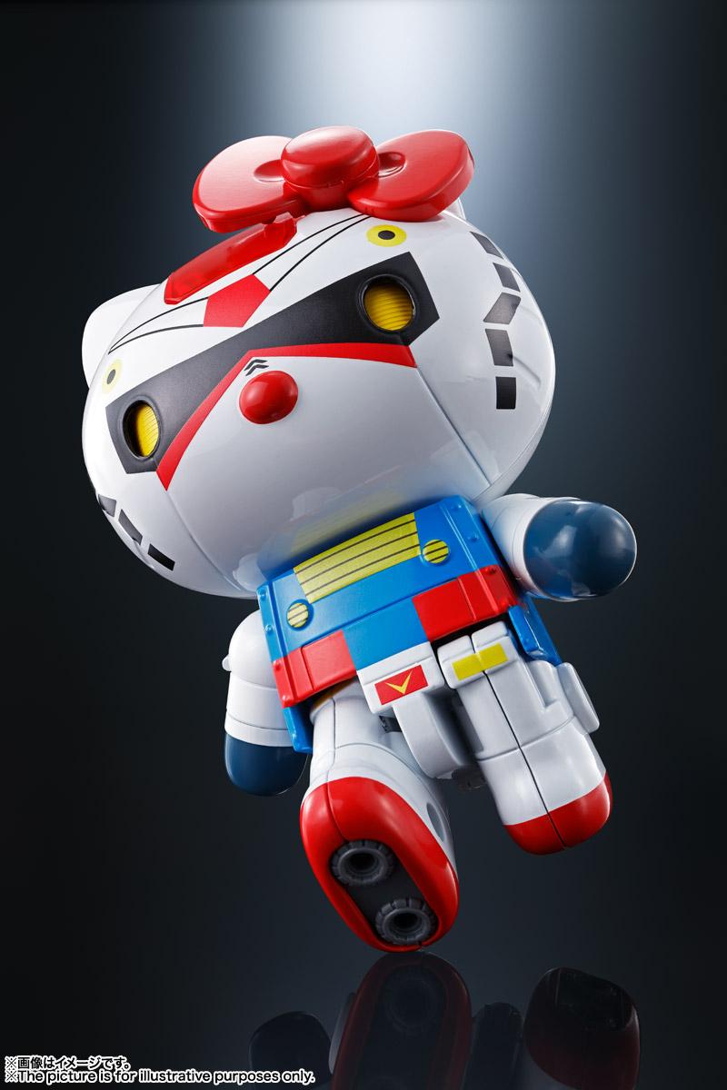 超合金『ガンダム★ハローキティ』可動フィギュア-002