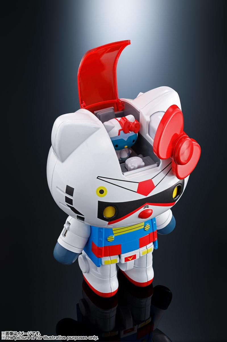 超合金『ガンダム★ハローキティ』可動フィギュア-010