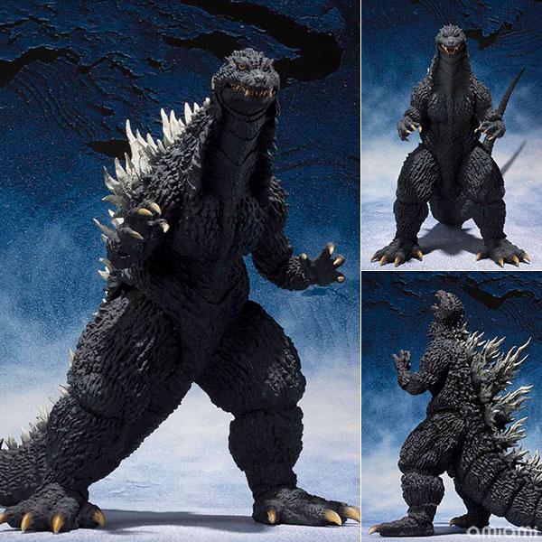 【再販】S.H.MonsterArts『ゴジラ(2002)』ゴジラ×メカゴジラ 可動フィギュア