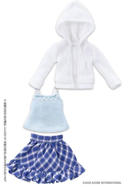 ピコニーモサイズ コスチューム『ガールズホリデイセット2020[ホワイト×ブルー]』1/12 ドール服
