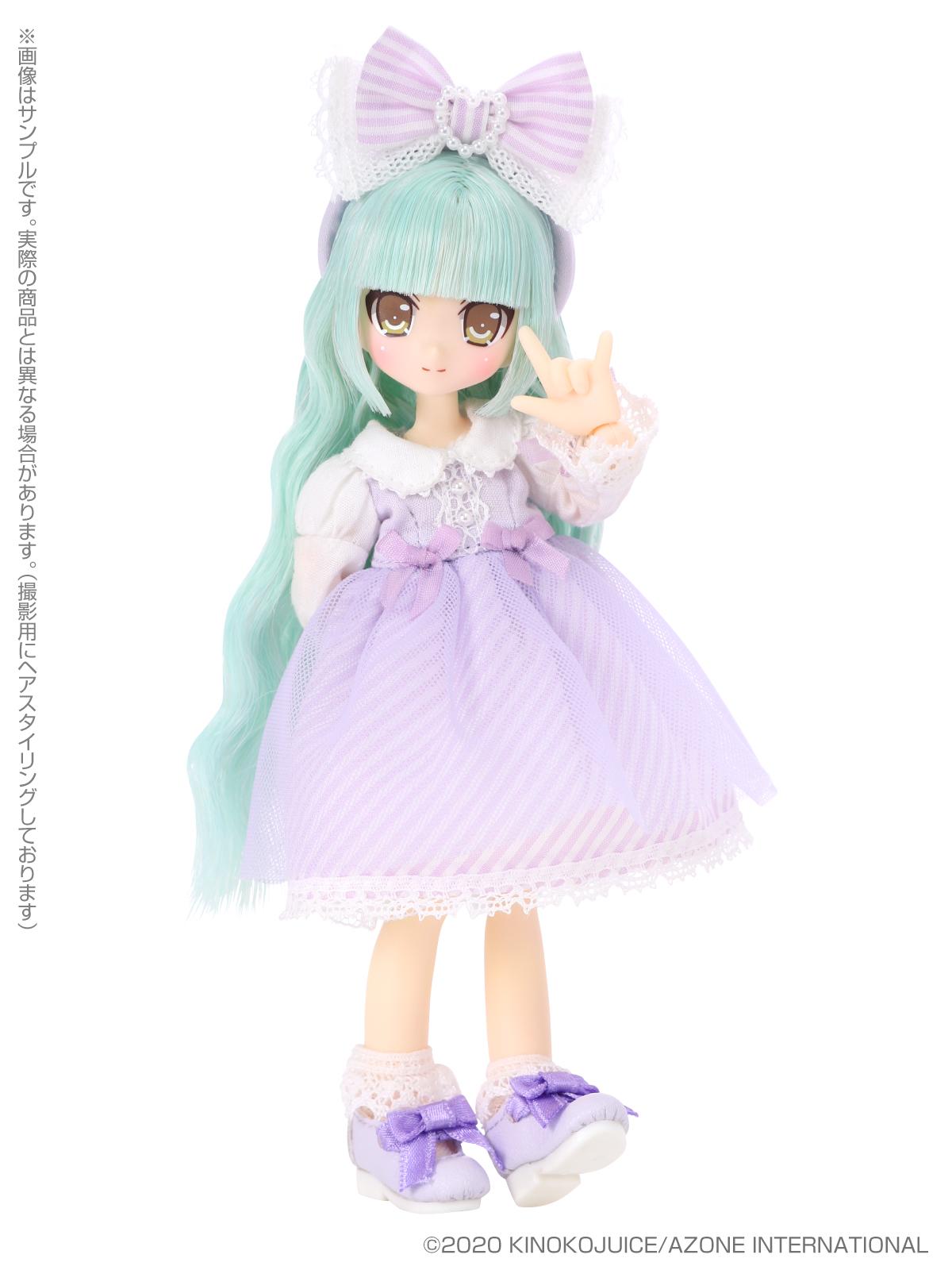 キノコジュース×Lil'Fairy『Twinkle☆Candy Girls/ヴェル』1/12 完成品ドール-001