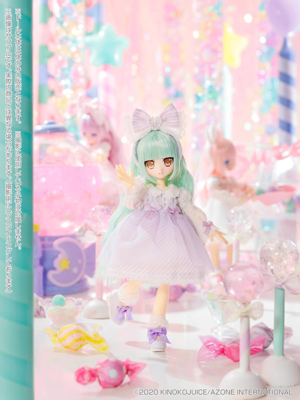 キノコジュース×Lil'Fairy『Twinkle☆Candy Girls/ヴェル』1/12 完成品ドール-006