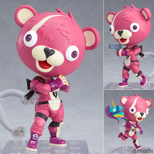 ねんどろいど『ピンクのクマちゃん』フォートナイト 可動フィギュア