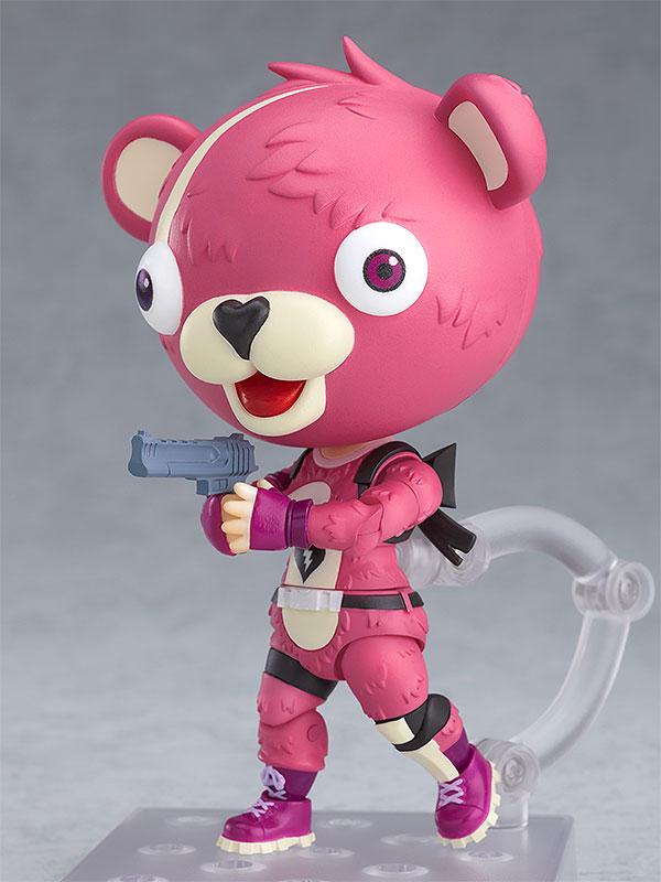 ねんどろいど『ピンクのクマちゃん』フォートナイト 可動フィギュア-003