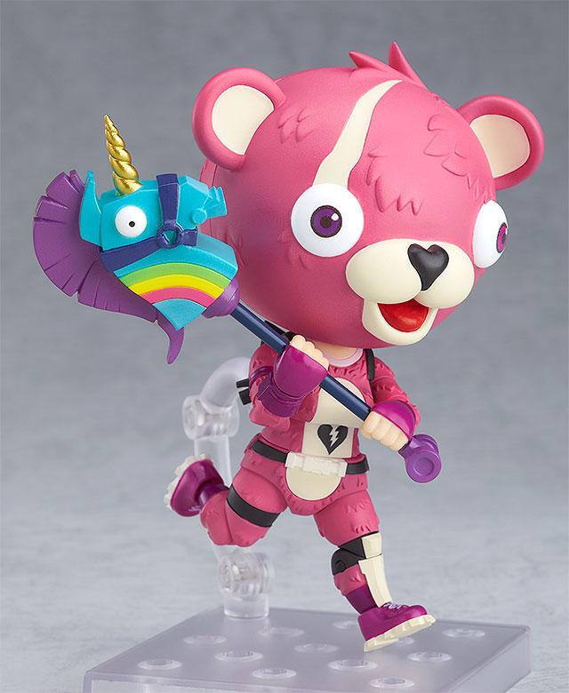 ねんどろいど『ピンクのクマちゃん』フォートナイト 可動フィギュア-004