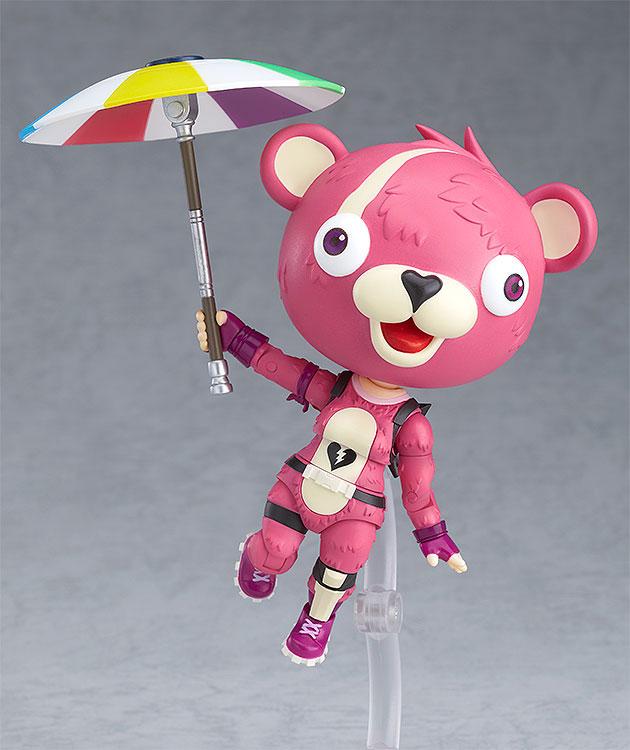 ねんどろいど『ピンクのクマちゃん』フォートナイト 可動フィギュア-005