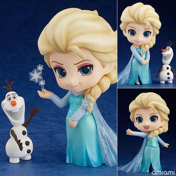 【再販】ねんどろいど『エルサ』アナと雪の女王 可動フィギュア