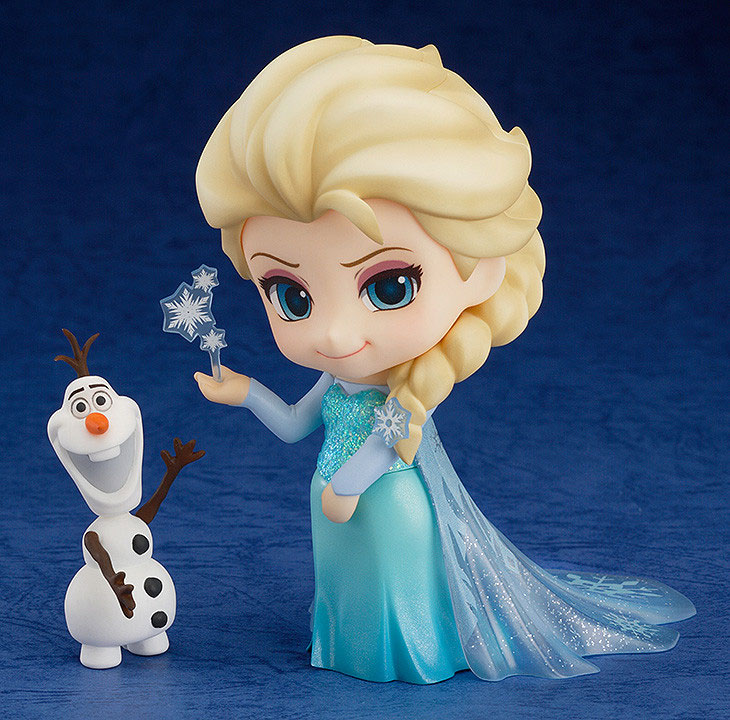 【再販】ねんどろいど『エルサ』アナと雪の女王 可動フィギュア-001