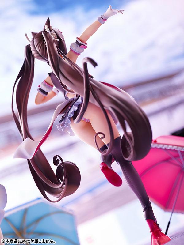 ネコぱら『ショコラ レースクイーン ver.』1/7 完成品フィギュア-008