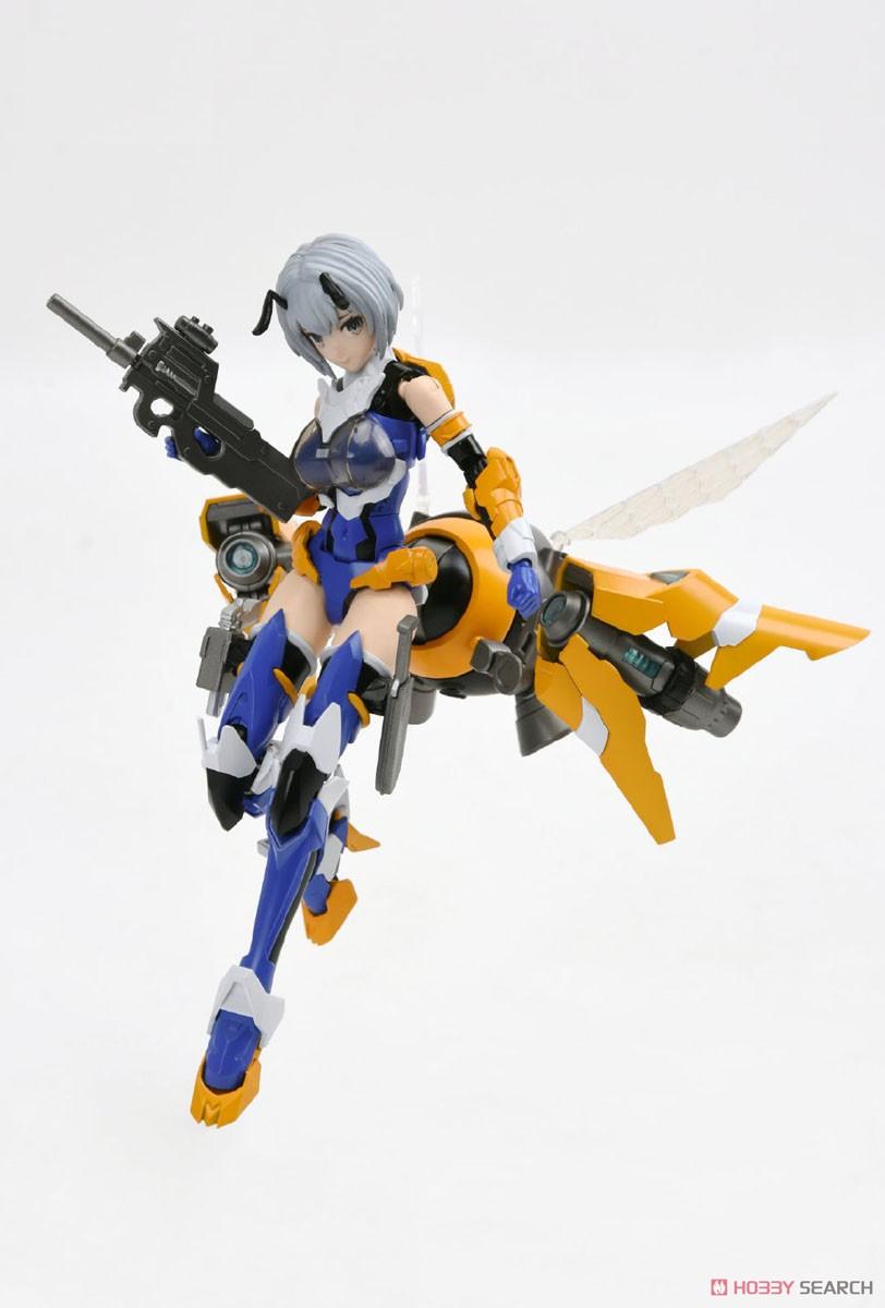雛蜂-B.E.E『瑠璃』1/10.5 プラモデル-002