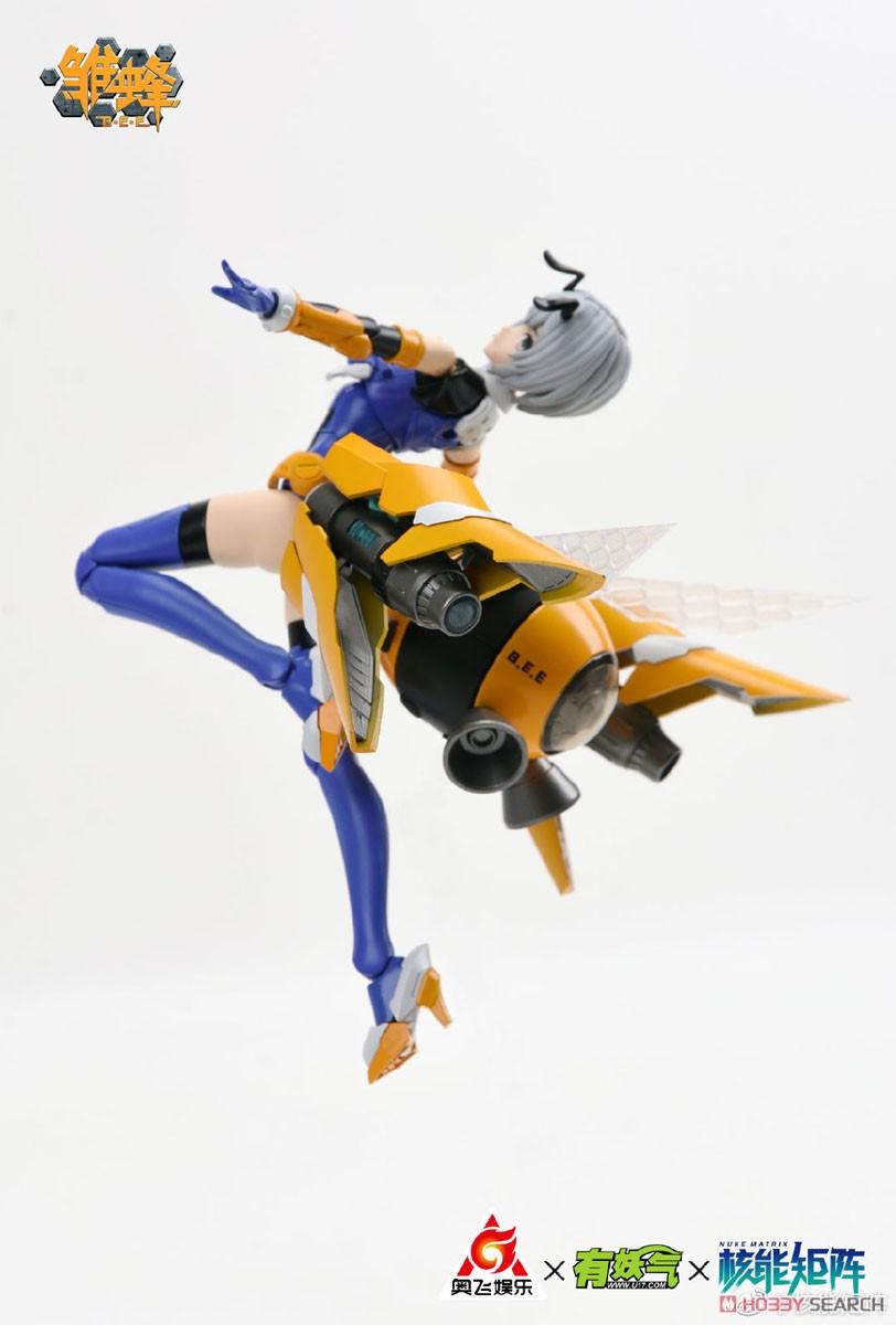 雛蜂-B.E.E『瑠璃』1/10.5 プラモデル-008