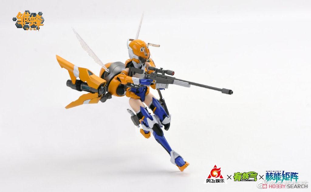 雛蜂-B.E.E『瑠璃』1/10.5 プラモデル-012