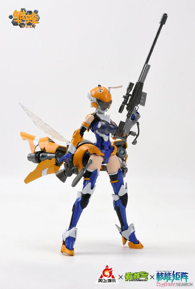 雛蜂-B.E.E『瑠璃』1/10.5 プラモデル-013