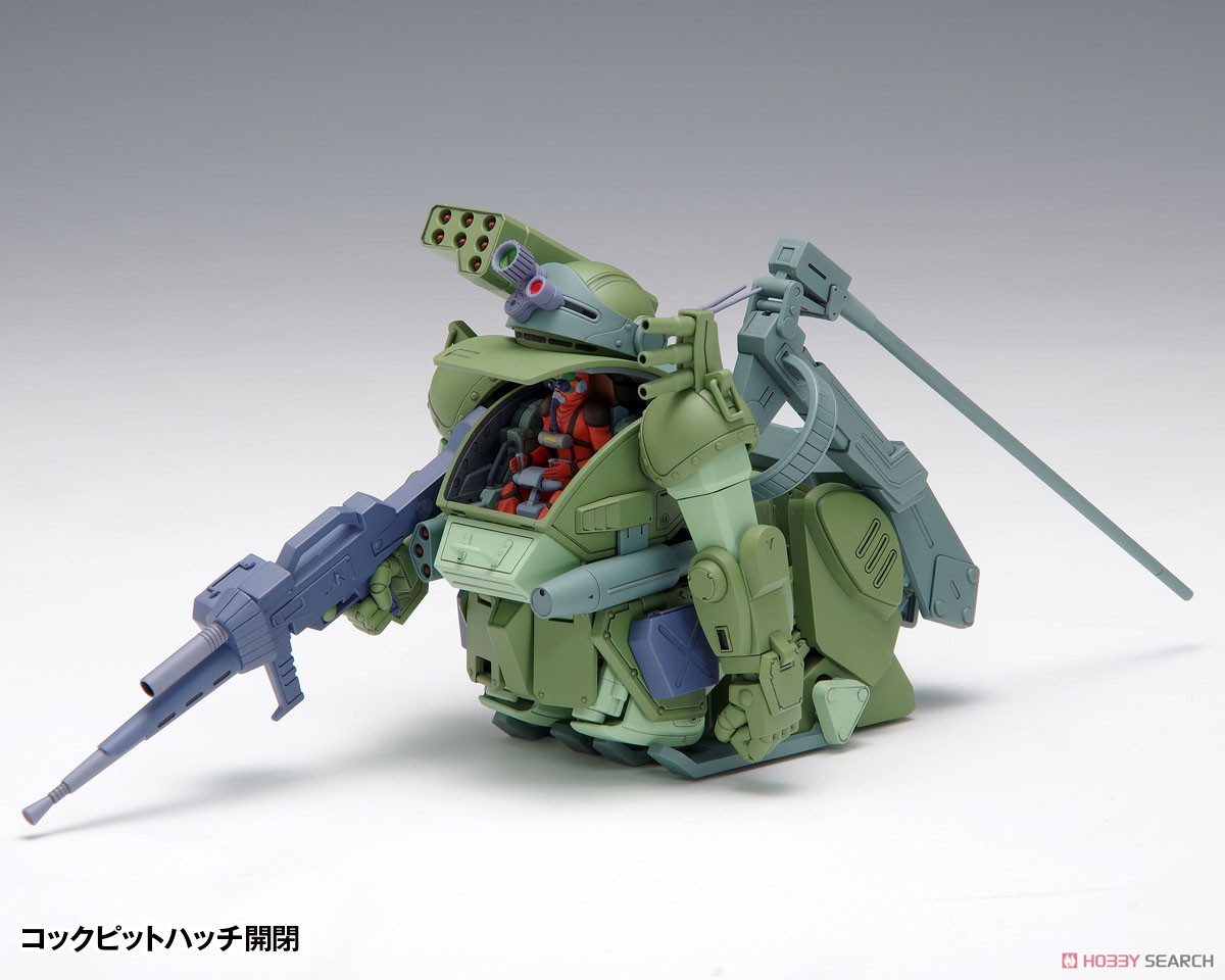 装甲騎兵ボトムズ『バーグラリードッグ PS版』1/35 プラモデル-002
