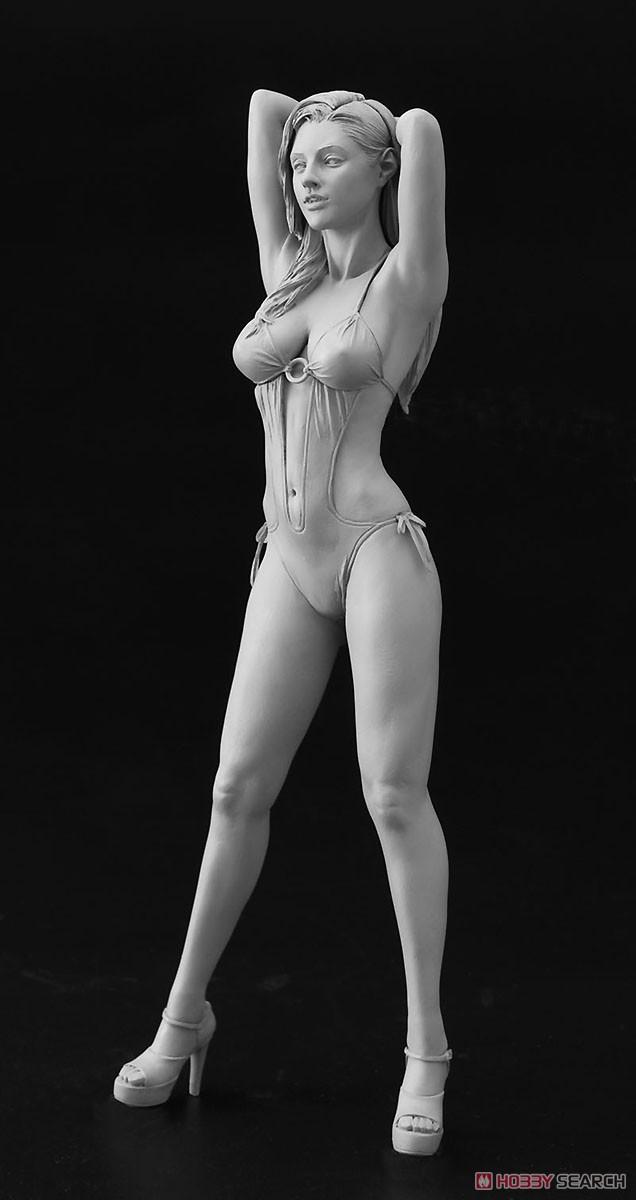 12リアルフィギュア コレクション No.02『ブロンドガール』1/12 未塗装レジン製フィギュア-003